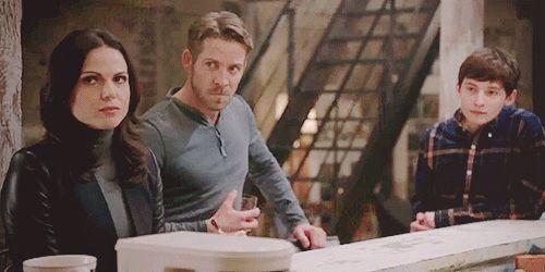 Regina , Robin and Henry