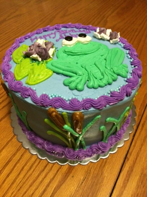 Frog Cake-Black Dog Bakery by Brianna