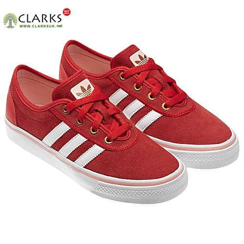 cheaper 9ccb7 e0853 Adidas Originals Adi Ease Womens Low ST Shoes Red