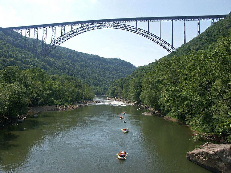 New River Gorge Bridge Fayetteville West Virginia