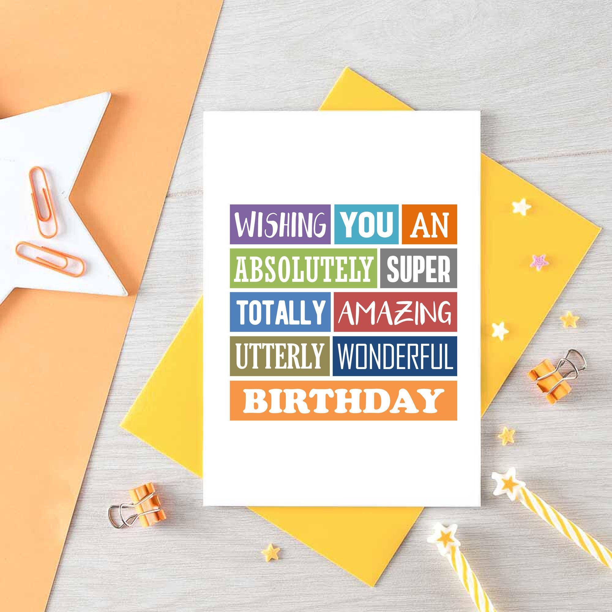 Fun Birthday Card For Friend Birthday Greetings Cute Etsy Birthday Cards For Boys Birthday Cards For Friends Kids Birthday Cards