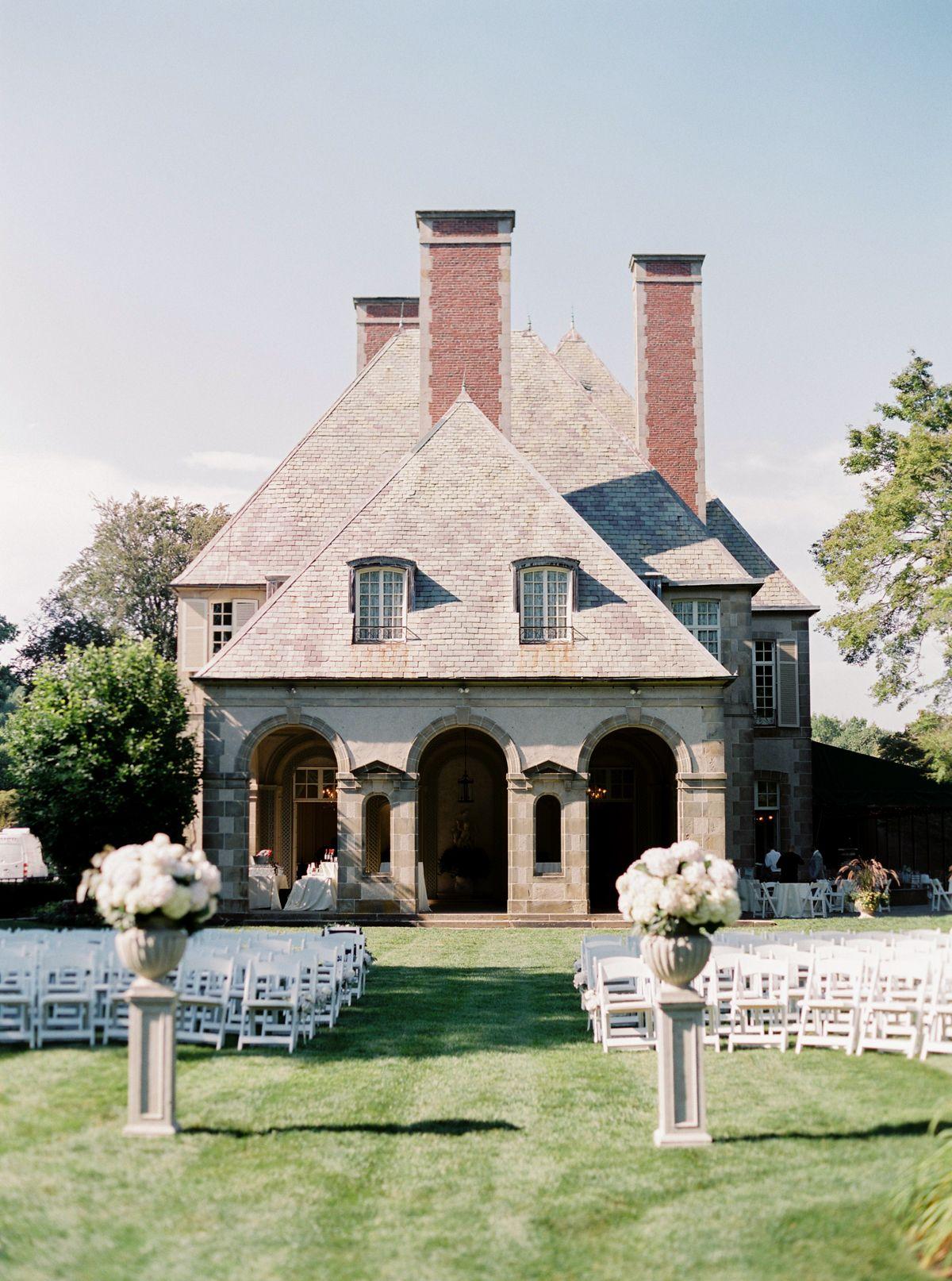 Oh, So Pretty! Blush and White Outdoor Garden Wedding In ...