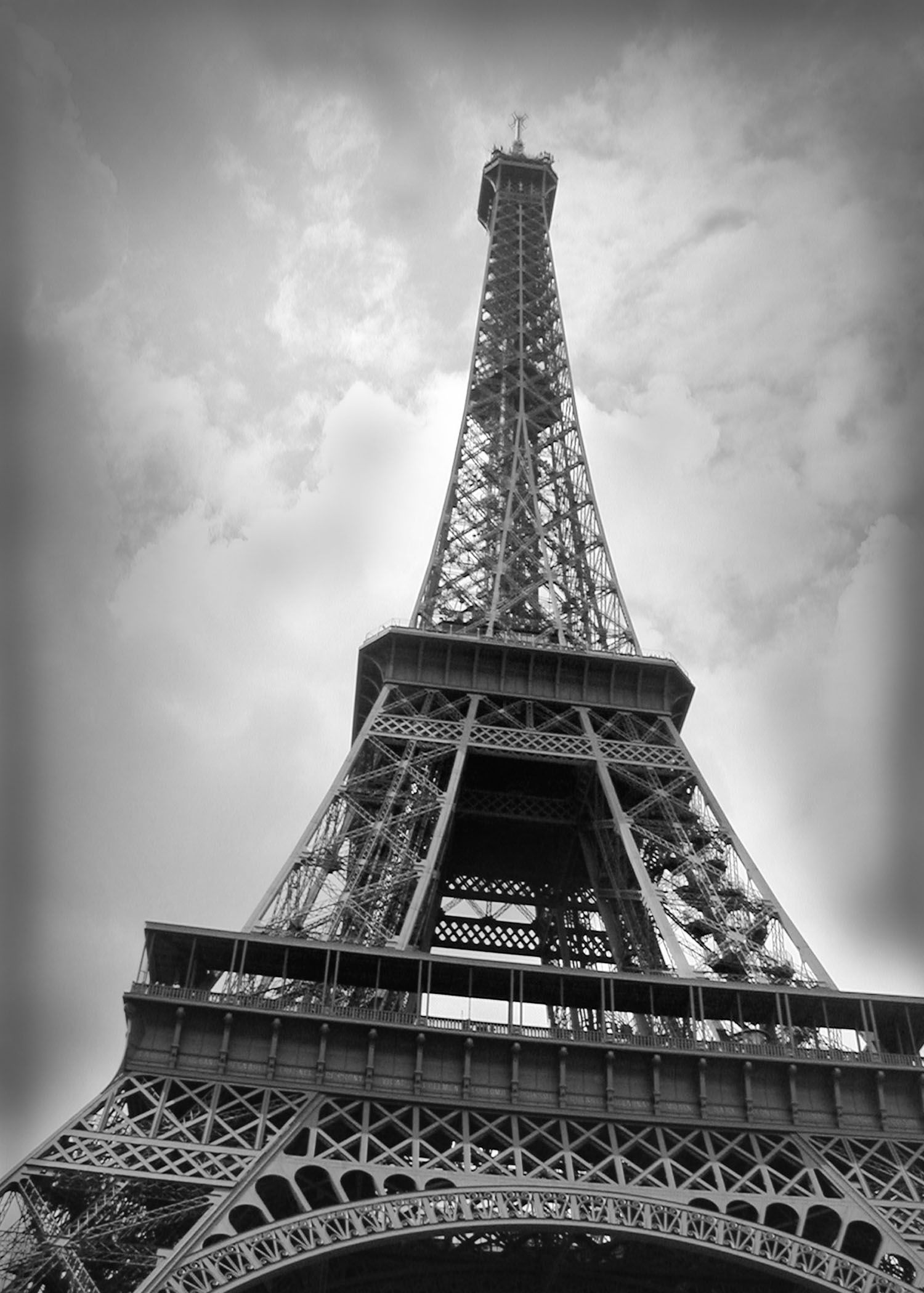 The Eiffel Tower Tour eiffel, Tower, Architecture