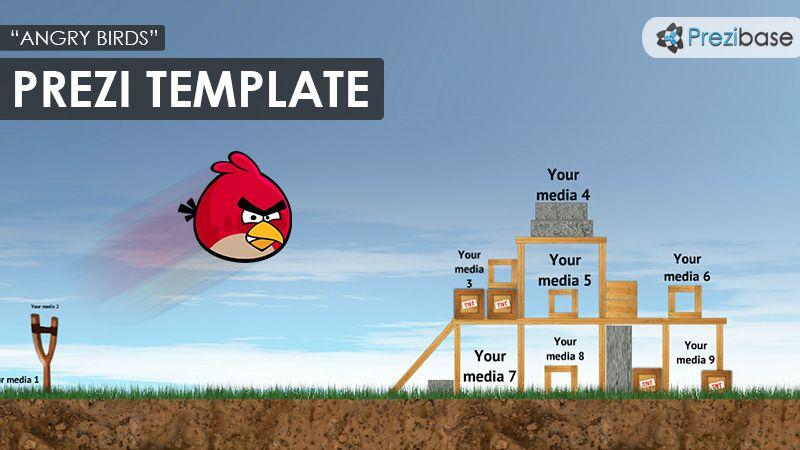 Free Angry Birds Prezi Template  Tuto  Prezi
