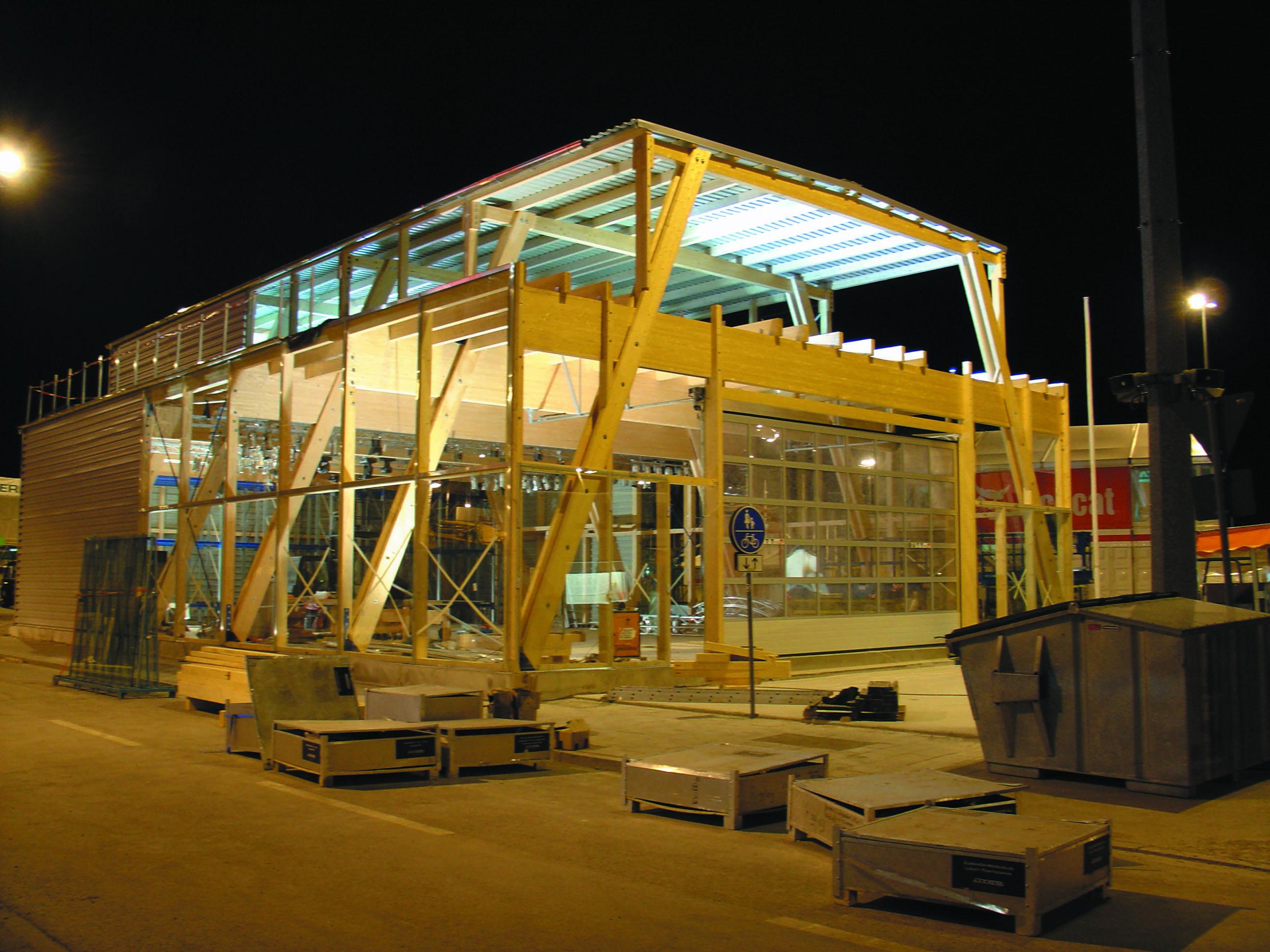 Blickfang Holzständerbauweise Kosten Dekoration Von Bvh Zweigeschossige Gewerbehalle Mit Betriebswohnung Und Buroeinheit