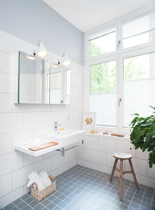 vintage berlin loft. Badezimmer jalousien, Haus