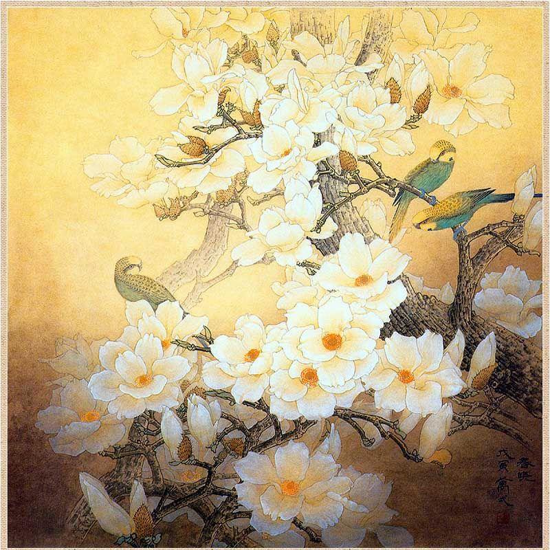 Blog - Privet.ru - Pájaros y flores - el tema tradicional de la pintura china - Internet Personal de blogs Valmish