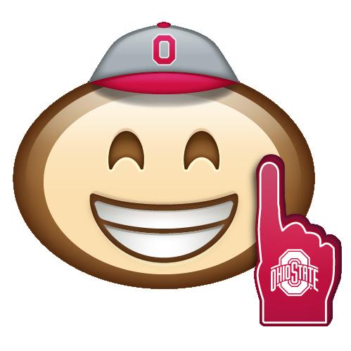 Brutus Emoji 1 Ohio State Buckeyes Ohio Buckeyes Ohio State