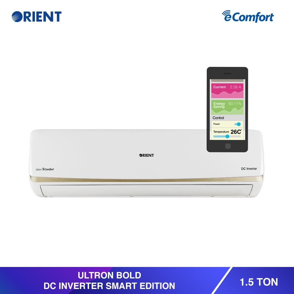 On Sale Orient 1 5 Ton Bold Ultra White Dc Inverter Price Rs 66000 Buy Now Https Www Shopperspk Com Product Electricity Consumption Stuff To Buy Rust Free