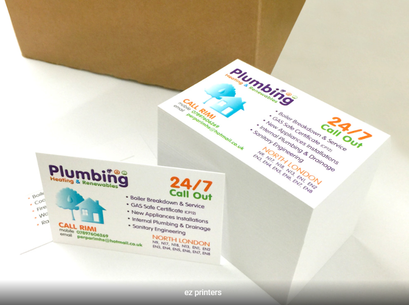 Standard Business Cards Printing London Ez Printers Printing Business Cards Premium Business Cards Cool Business Cards
