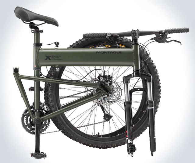 Paratrooper Tactical Mountain Bike  You have to watch the