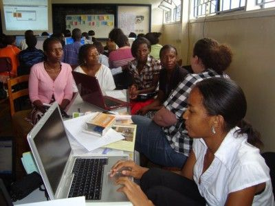 Information technology is consistently becoming a more important tool for communication in rural areas of Africa. As Jos Dirkx tells us, the Internet's also becoming a powerful tool for African women to better their lives on the continent.