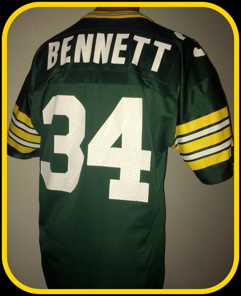 Vintage Edgar Bennett Green Bay Packers Replica Champion Jersey Adult 44 Champion Greenbaypackers Nfl Football Jersey Nfl Outfits Green Bay Packers Shirts