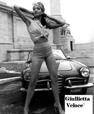 Alfa Romeo auto e ... ragazze.