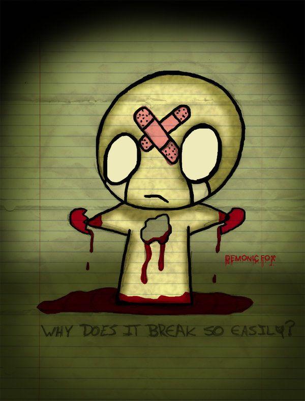 Heartbroken Heartbroken Drawings Emo Cartoons Cute Monsters