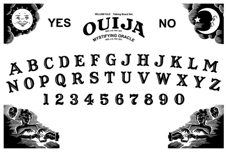 Ouija Board Decal Svg Pdf Ai Etsy In 2021 Ouija Ouija Board Cricut Halloween