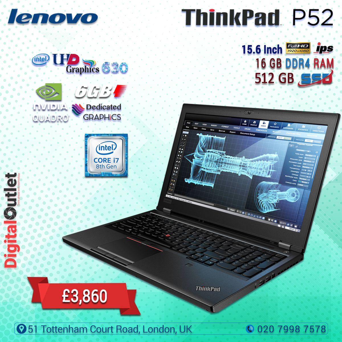 Lenovo ThinkPad P52 Intel Core i7-8850H 15 6