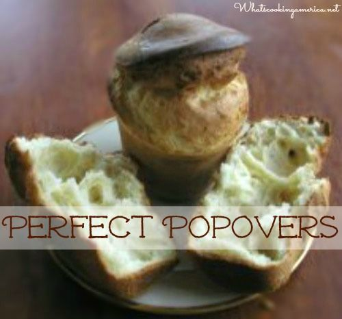 Perfect Popovers | whatscookingamerica.net #popovers #christmas