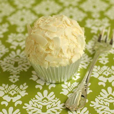 Coconut Layer Cake cupcake:  use coconut milk in cake and buttercream frosting