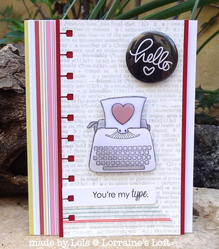 Lorraine S Loft Objects Of Love Valentine Love Cards Hello Cards Diy Holiday Cards