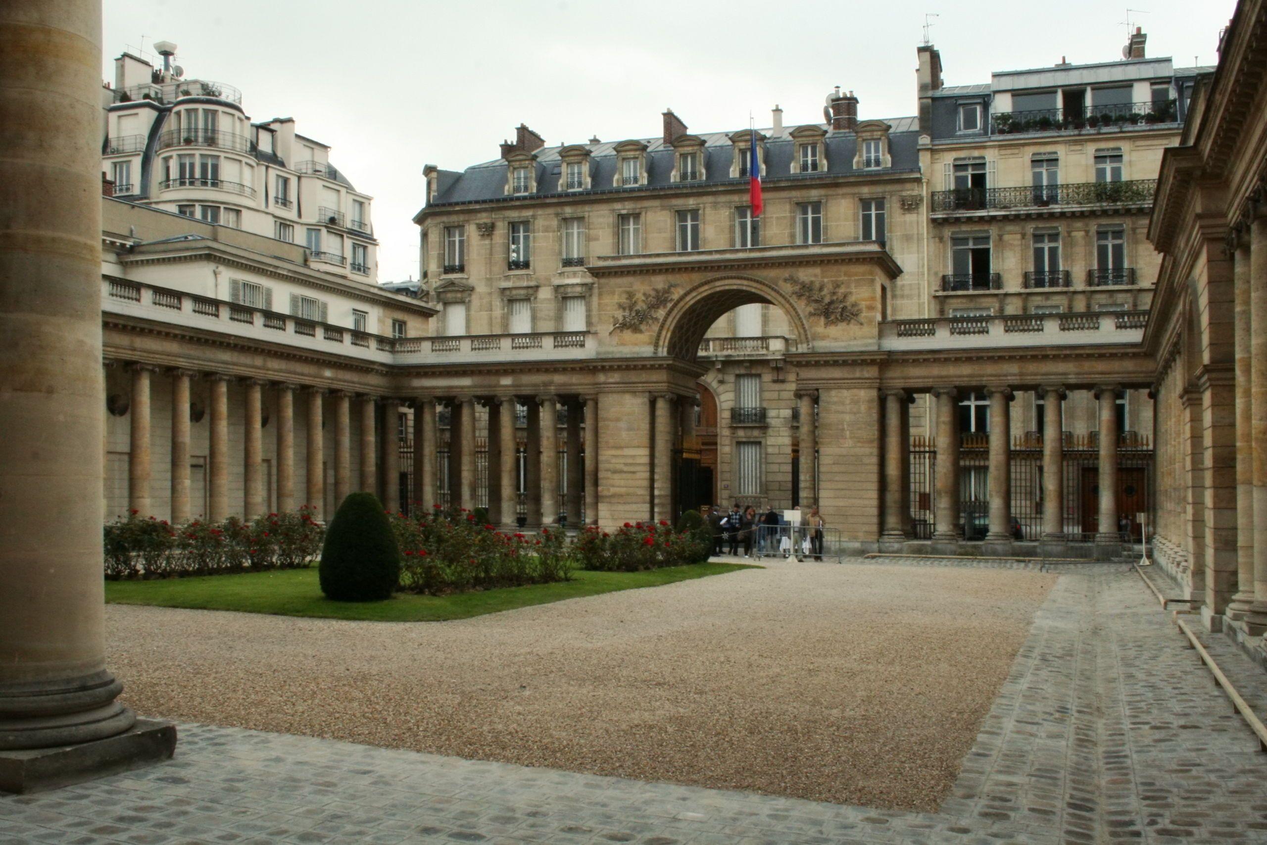 Hotel Villa La Parisienne Parigi interior courtyard hôtel de salm - paris 7e | paris