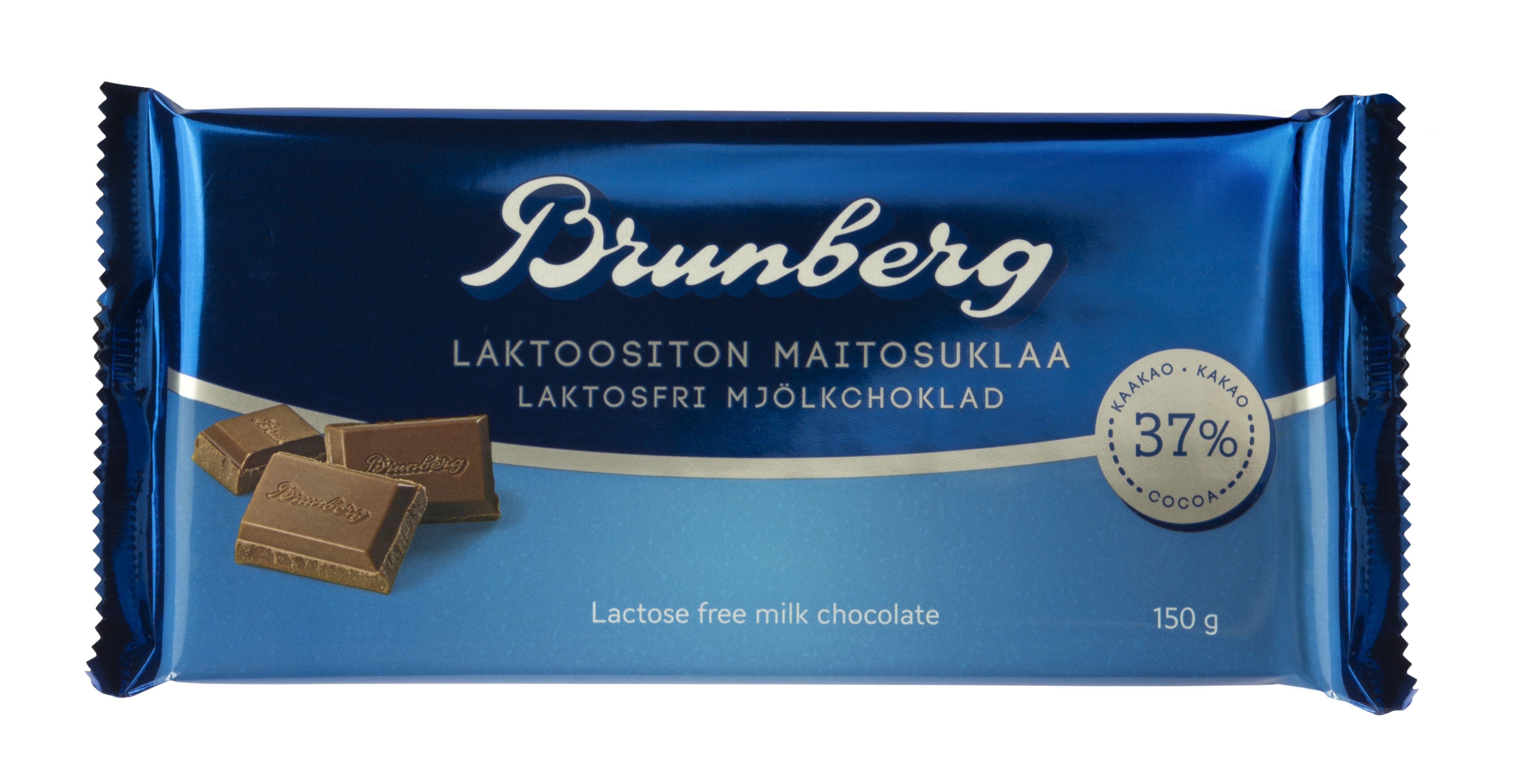 Laktoositon maitosuklaa, Brunberg
