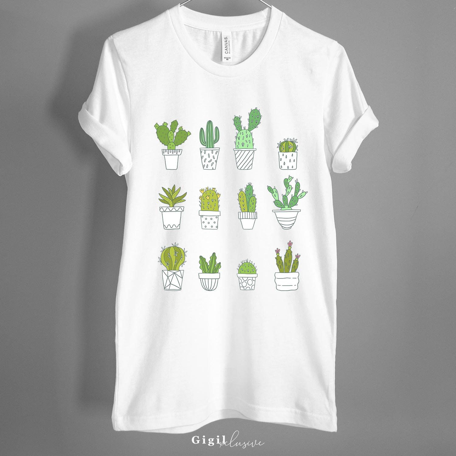 Plants Plant Plant Tee Botanical Graphic Tee House Plant Gift Succulent Plant Lover
