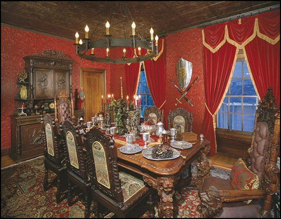 Decorating Theme Bedrooms Maries Manor Medieval Dinning Room
