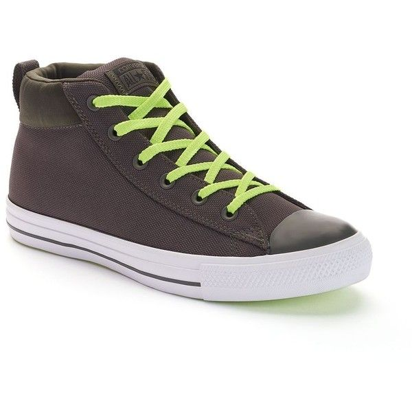 74ccfee89bd0 Men s Converse Chuck Taylor All Star Street Mid Shoes ( 65) ❤ liked on  Polyvore