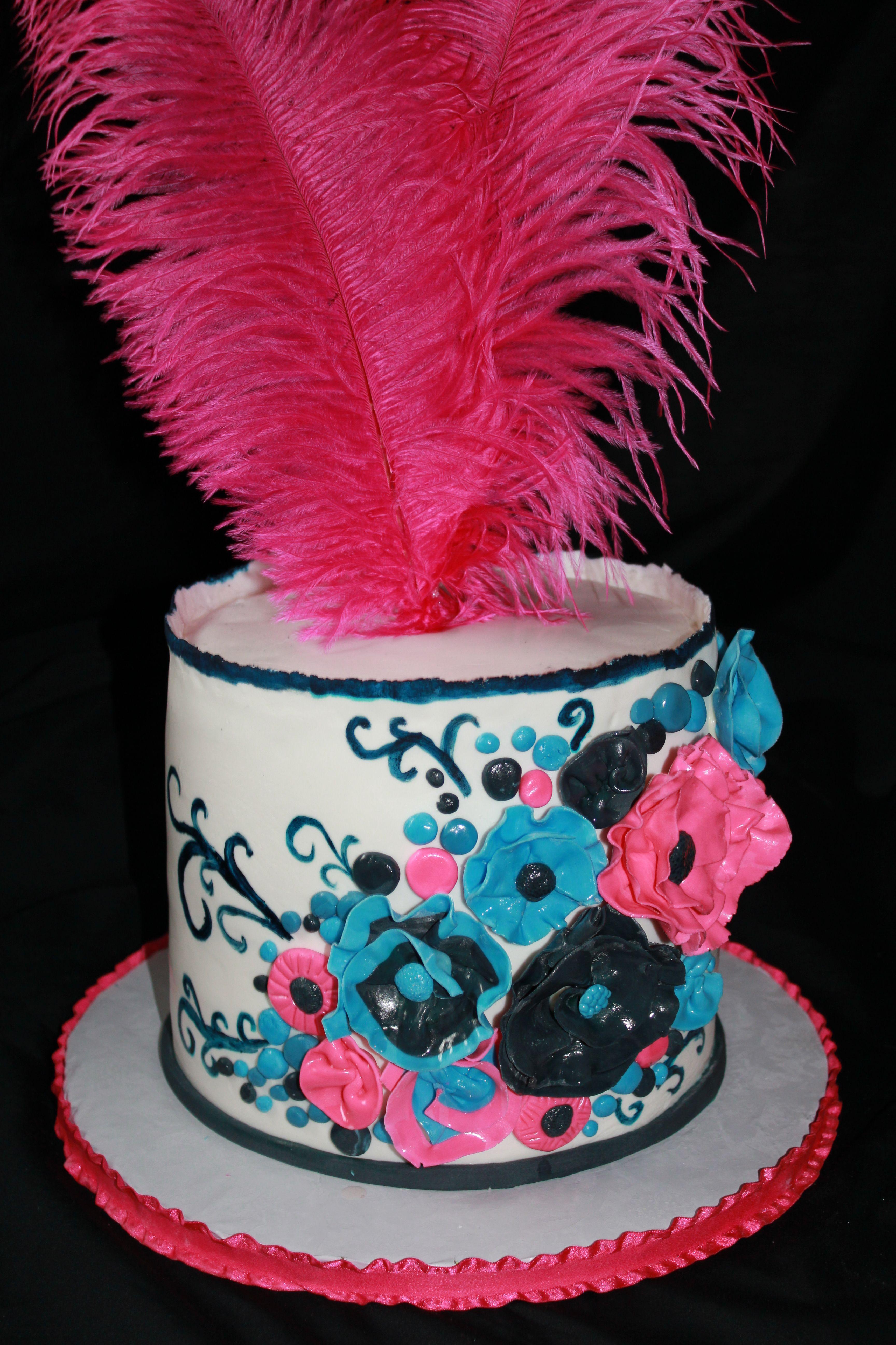 Fancy Birthday Cake Cake Ops Cakery