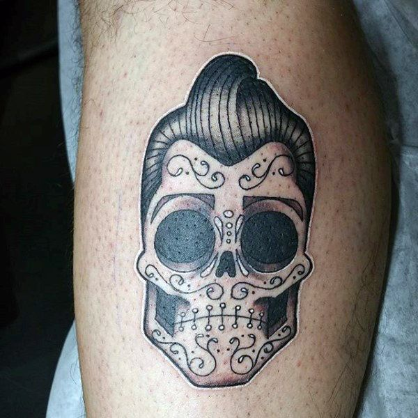 ea6e4da97cbd4 Discover the spirit of Mexican culture with the top 70 best Day Of The Dead  tattoos for men. Explore festive Spanish-themed ink ideas and designs.