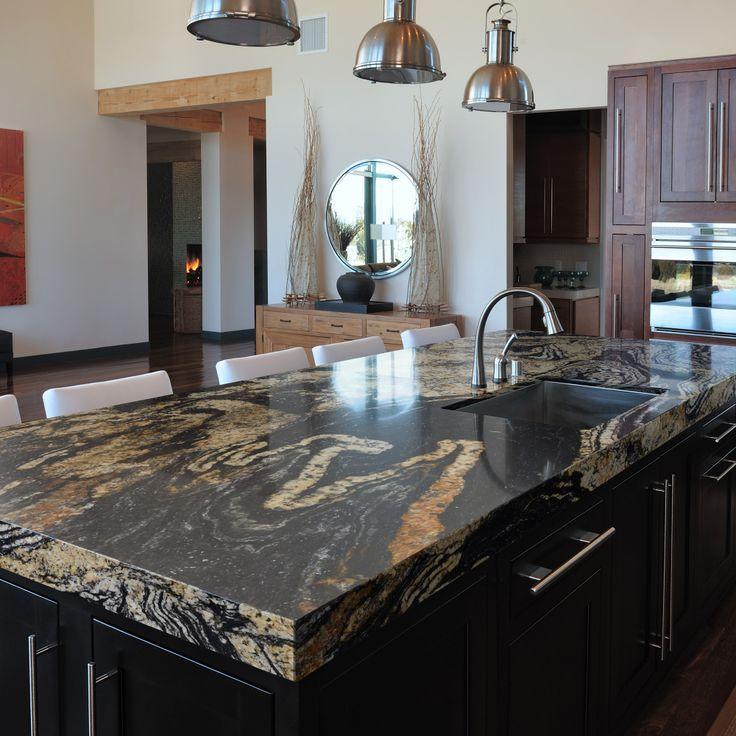 Sensa Orinoco Granite Prefab Outdoor Kitchen Granite