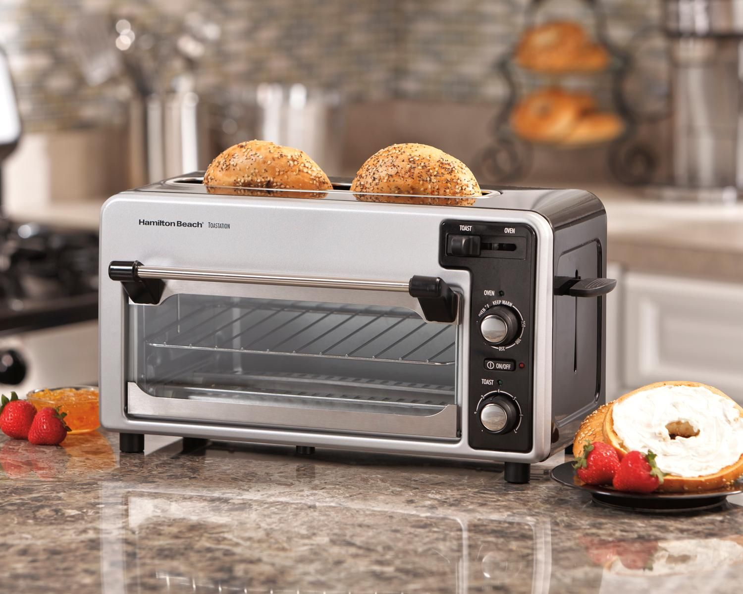 Toasters Slice 2 4 Ovens Convection Hot And Dog Small Bagel