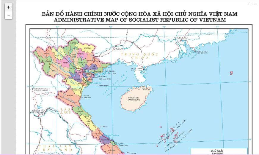 Bản đồ Hanh Chinh Việt Nam Việt Nam Bản đồ Viết