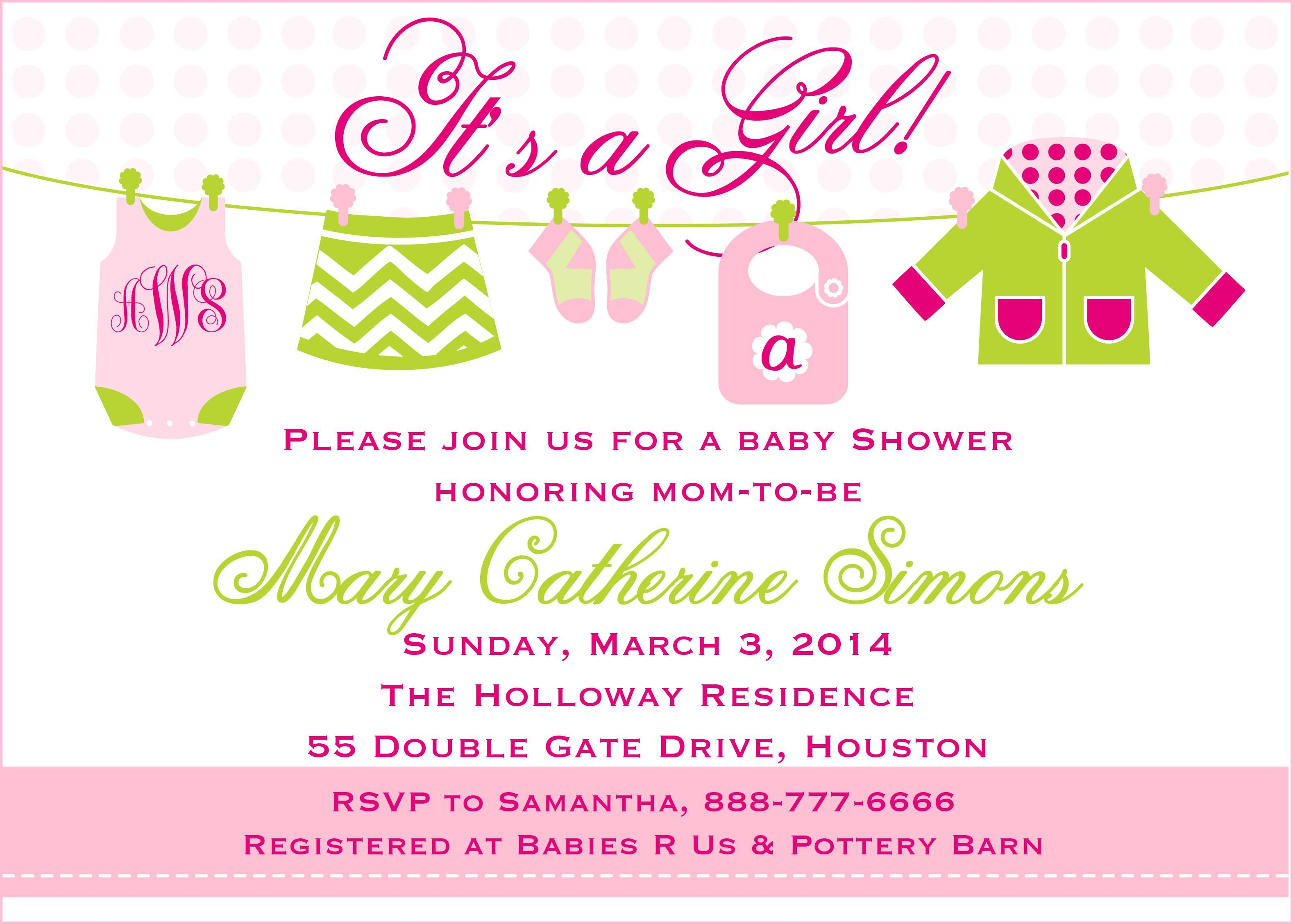 Baby Shower Invitation Card : Baby Shower Invitation Book Instead ...