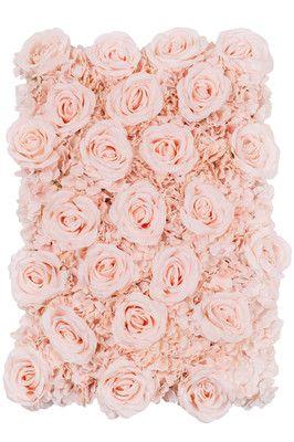 Silk Roses Hydrangeas Flower Wall Backdrop Panel Light Pink Flower Wall Backdrop Diy Flower Wall Flower Wall