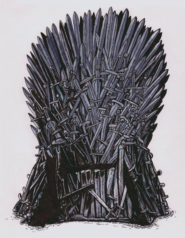 The Iron Throne By Pietro D Amore Kunst Thron Geschenke