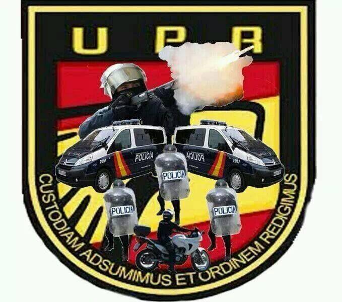 Unidad de Prevención y Reacción UPR, todo unos monstruos