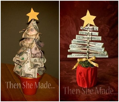 A whole post on different ways to give cash as a gift some new creative ways to give cash as gifts money trees and more negle Image collections