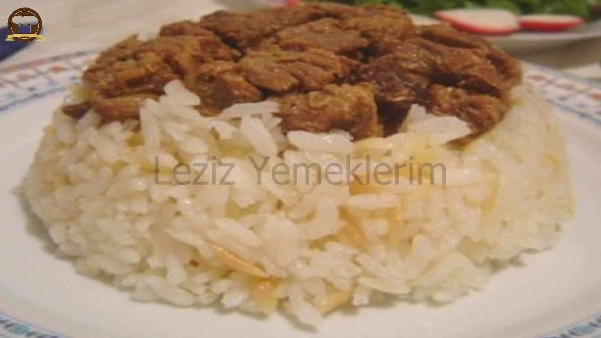 Oktay Usta Ali Paşa Pilavı Tarifi