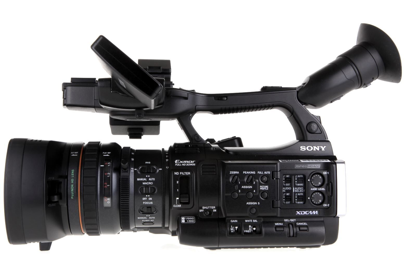Sony PMW200 XDCAM HD422 Camcorder Video