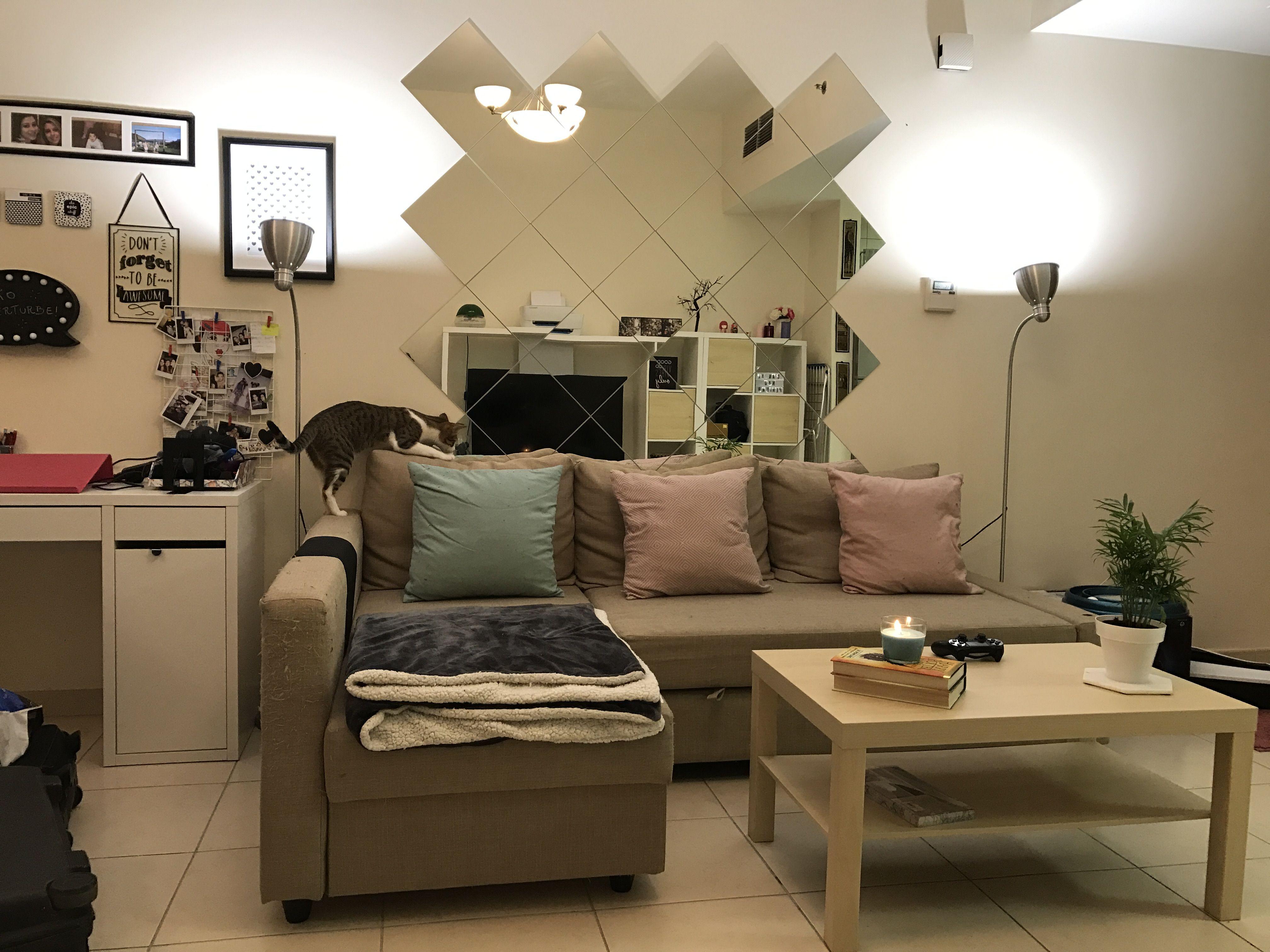 mirror wall with ikea lots ikea mirror living room on mirror wall id=71596