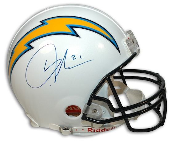 the latest 97b42 b372a Autographed LaDainian Tomlinson San Diego Chargers Proline ...