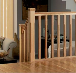 Best White Oak Banister White Oak Stairparts Stair 400 x 300