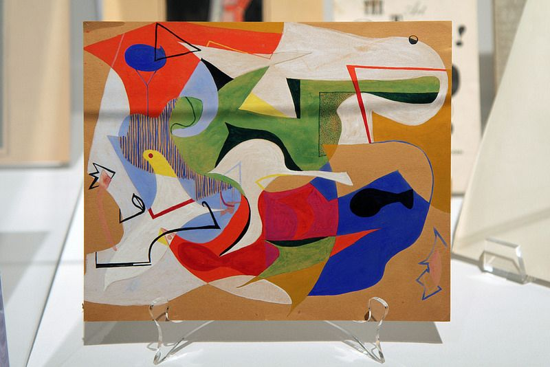 eames ray charles painting paintings flickr modern