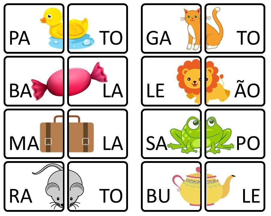 Letreros X Silabas Silabario En Espanol Cuaderno De
