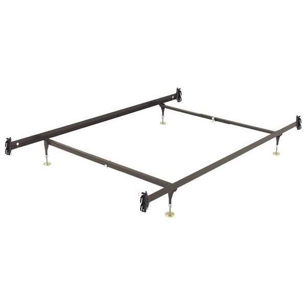 Full Size Metal Bed Frame With Hook On Headboard And