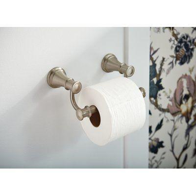 Moen Belfield Pivoting Wall Mount Toilet Paper Holder Finish