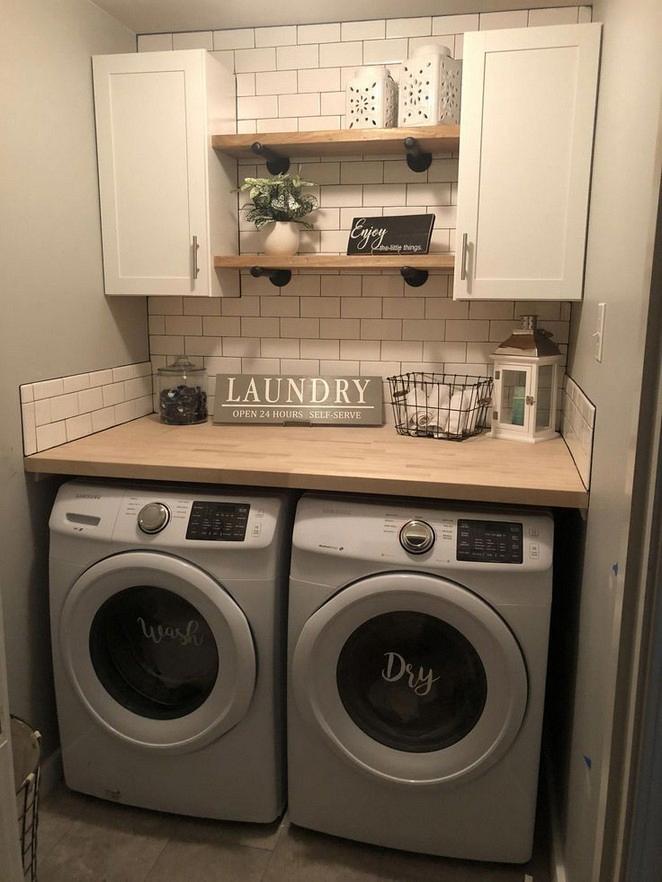 155 Charming Farmhouse Laundry Room Ideas 12 Perfect Laundry