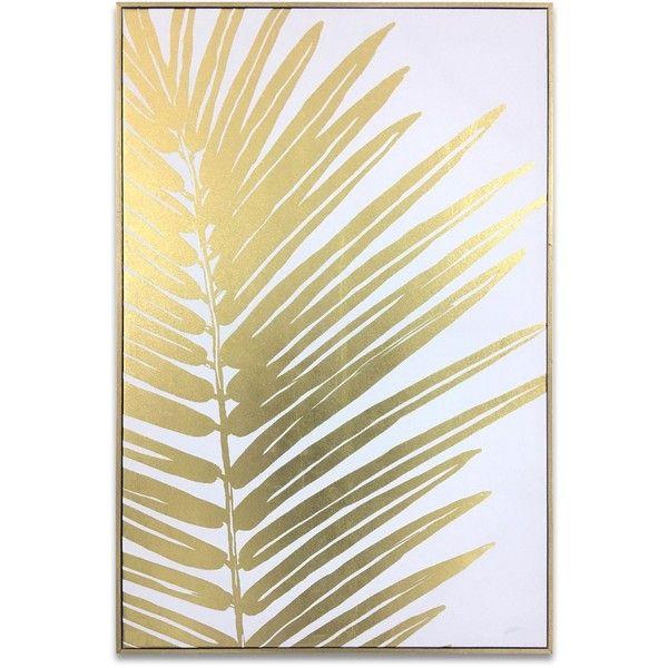 Wynwood Studio Cal Leaves I Gold Foil 24\